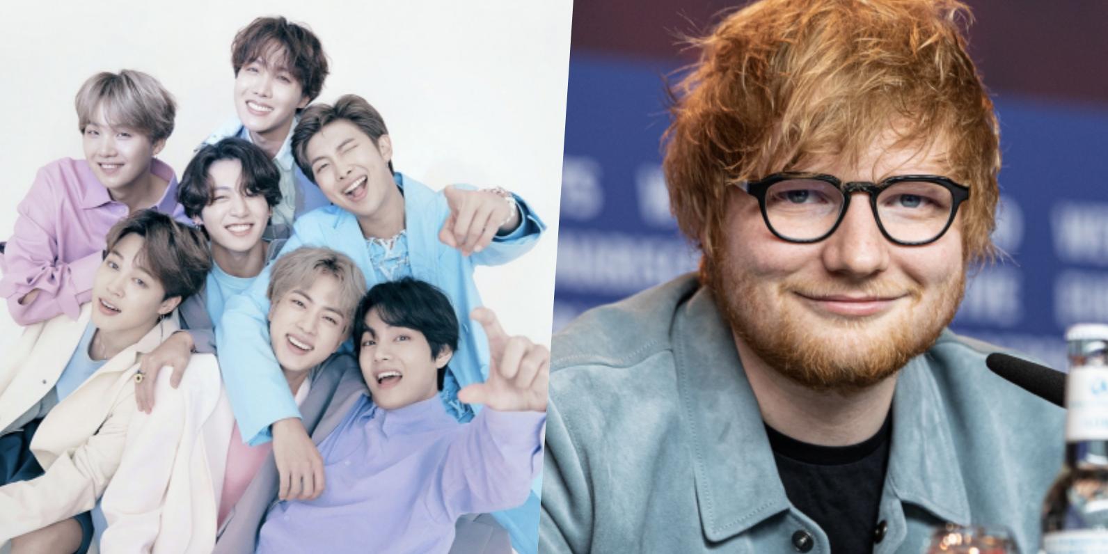 Ed Sheeran y BTS vuelven a colaborar en un nuevo tema