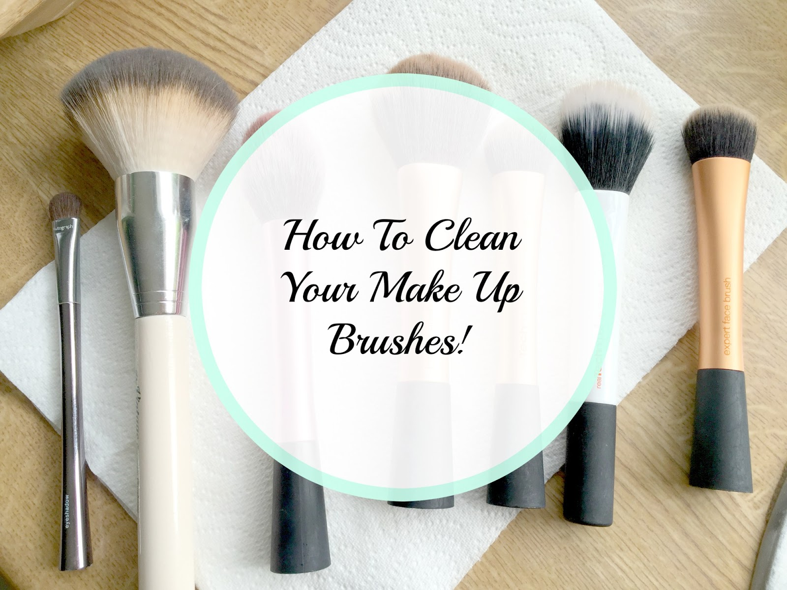 As some of you may know I suffer a lot with breakouts on my skin, and for me, clean, fresh, germ-free makeup brushes make a HUGE difference.