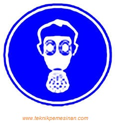 simbol harus menggunakan menggunakan respirator