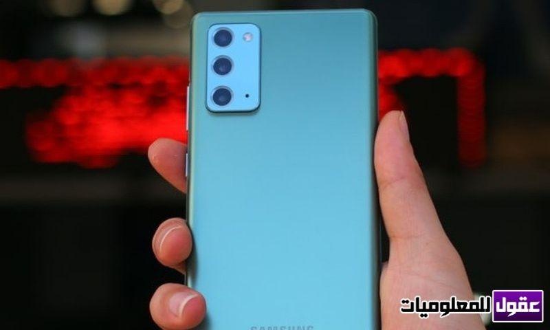 كيفية تغيير اللغة في سامسونج نوت 20 Samsung Galaxy Note