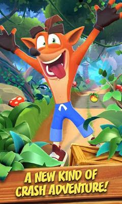 تحميل لعبة  Crash Bandicoot Mobile APK النسخة المهكرة