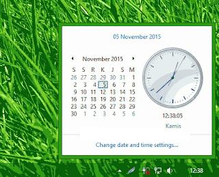 Mengganti Jam dan Tanggal di Windows