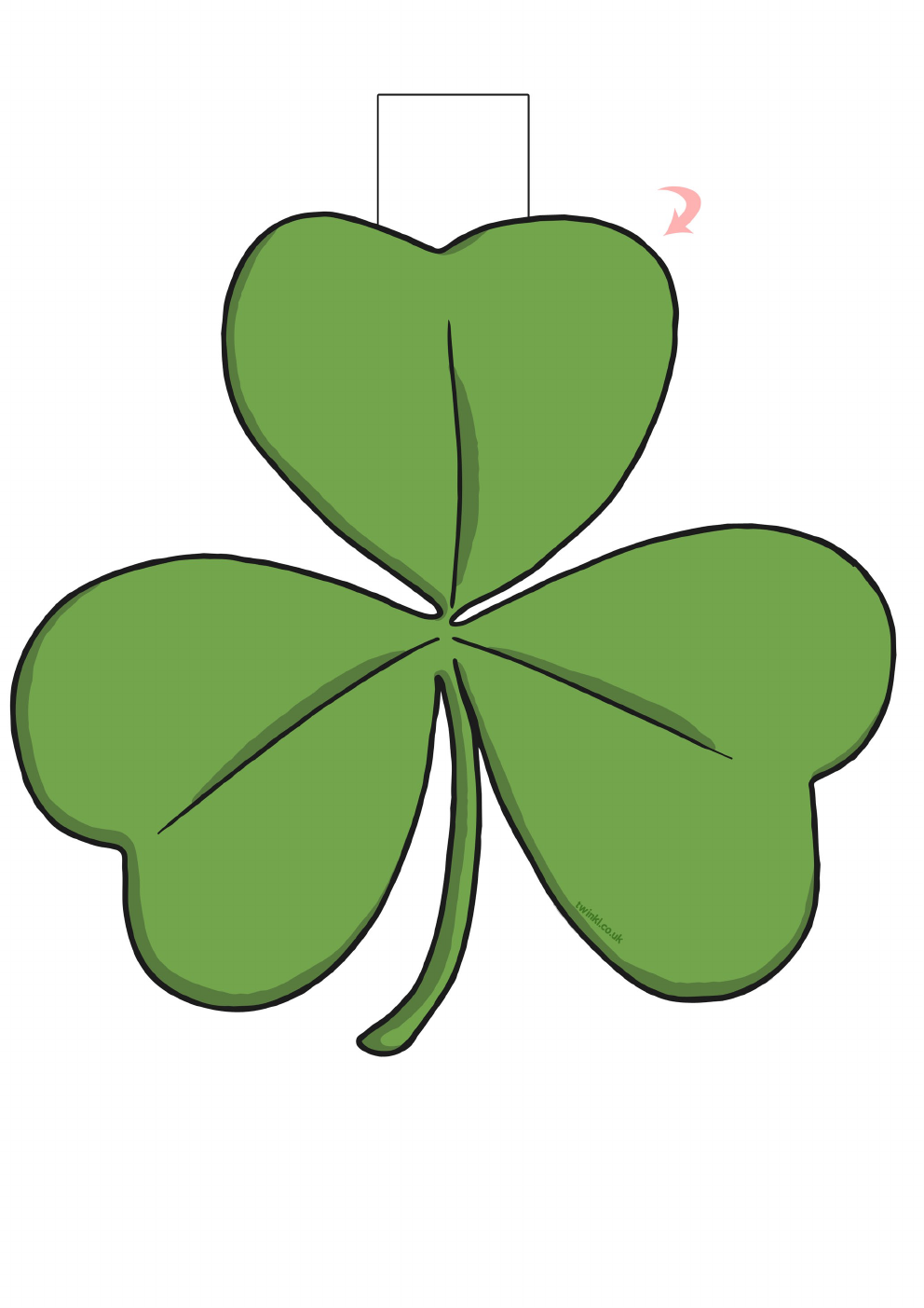 St Patricks Day Crafts for Kids Toddlers Free Printable