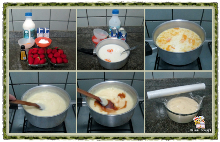 Torta de morangos 5