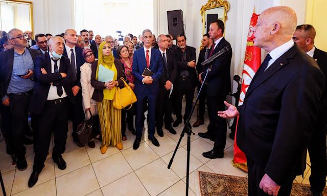 Tunisie: Kaïs Saïed promet de rencontrer les citoyens de Tataouine dès son retour