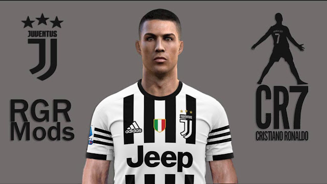 C.Ronaldo (CR7) Face and Hair 2020 PES 2013