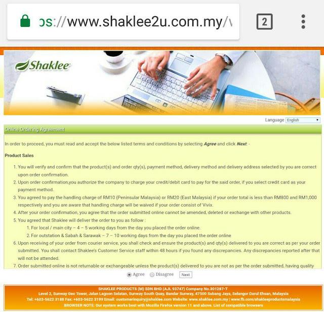 Cara Beli Produk Shaklee Bagi Yang Bukan Ahli