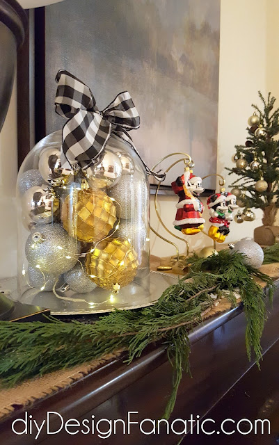 Christmas, Christmas tree, Christmas mantel, Christmas decorations, cottage, cottage style, farmhouse, farmhouse style, diyDesignFanatic.com