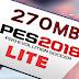 تحميل لعبة PES 2018 Lite بحجم 270 ميجا للاندرويد
