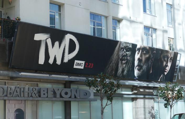 Negan Walking Dead season 10 part 2 billboard