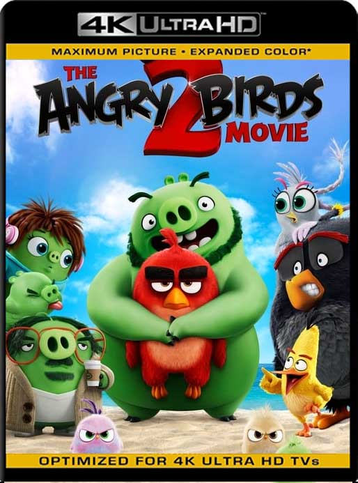Angry Birds 2, La Película (2019) 4K 2160p UHD [HDR] Latino [GoogleDrive]