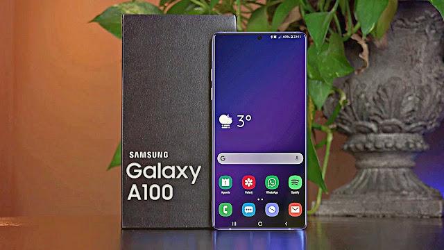 Samsung Galaxy A100 is Under Display Camera Phone