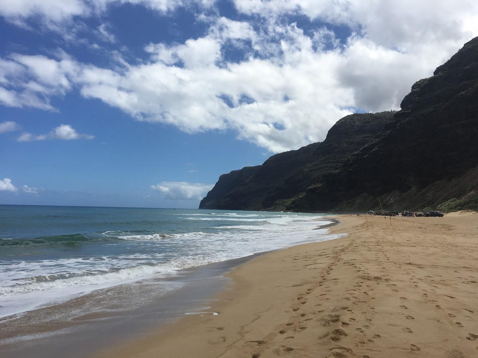 Polihale Beach On Kauai