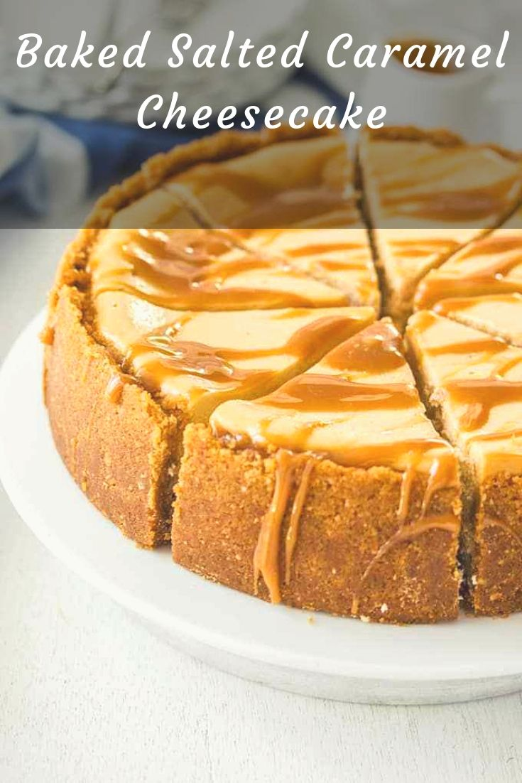 This Baked Salted Caramel Cheesecake recipe is a combination of simple caramel sauce and an easy baked cheesecake. Rich, indulgent and no tricky steps.Make sure to leave enough time for this cheesecake to cool completely. Even overnight.