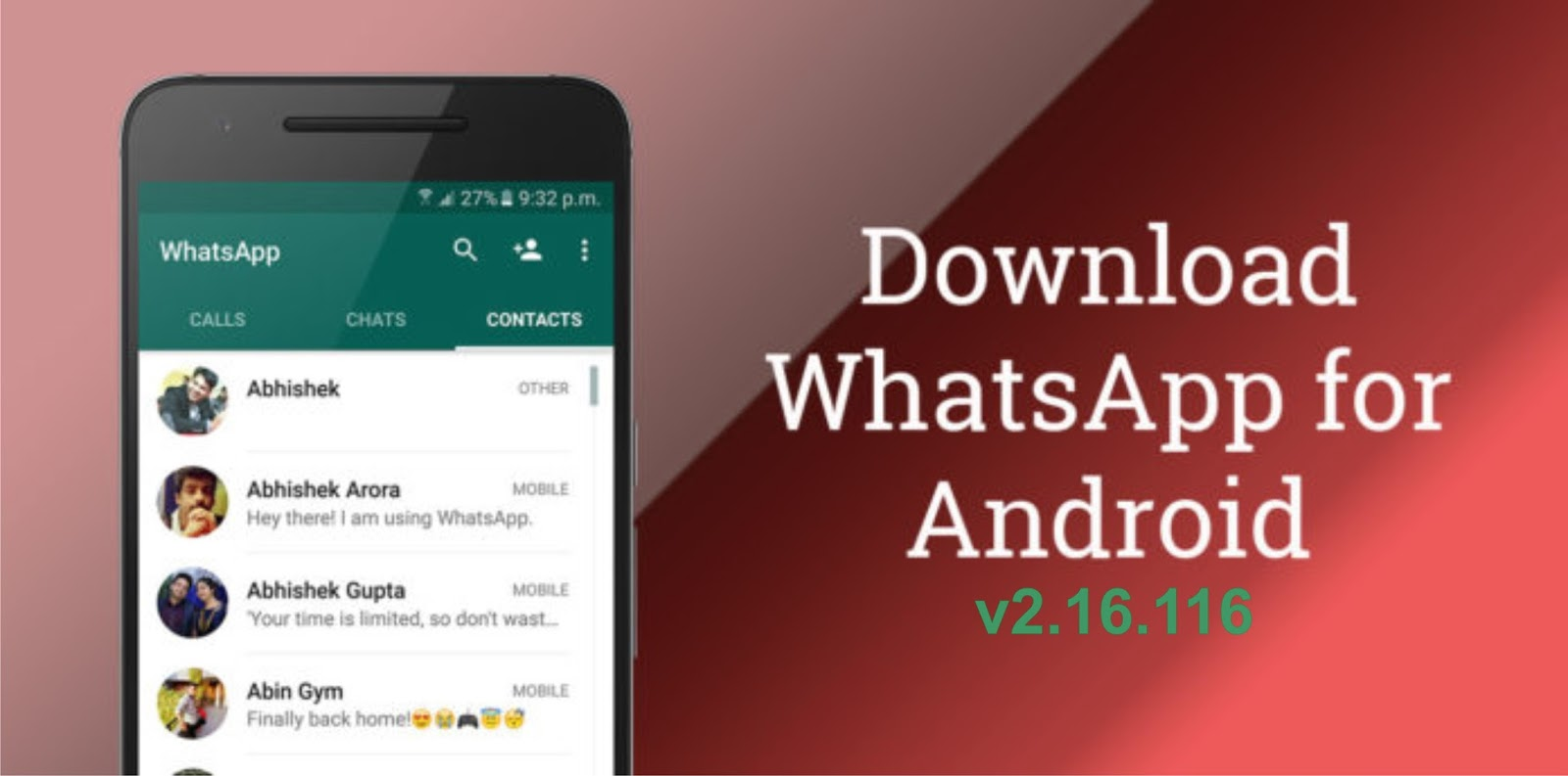 Telechargement whatsapp messenger for nokia - You Are Downloading Whatsapp Messenger Latest Apk V2 16 116 451200 Whatsapp Messenger Is A Smartphone Messenger Available For Android And Other