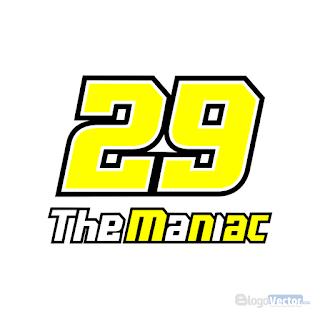 Andrea Iannone #29 The Maniac Logo vector (.cdr)