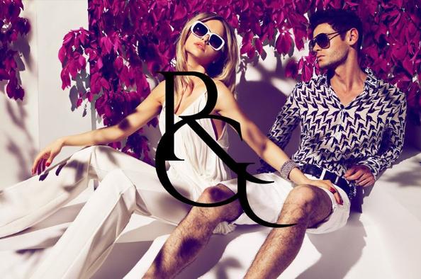 Rossario George fashion designs on Inveigle Magazine