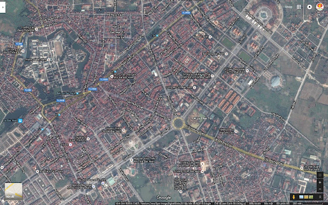 Vị trí Vincom Shophouse Bắc Ninh