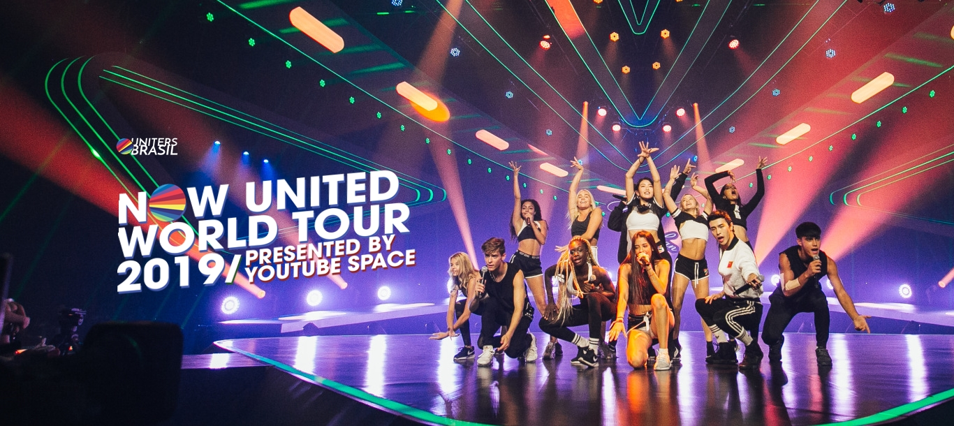 WORLD TOUR e DREAMS COME TRUE são as novas turnês do Now United