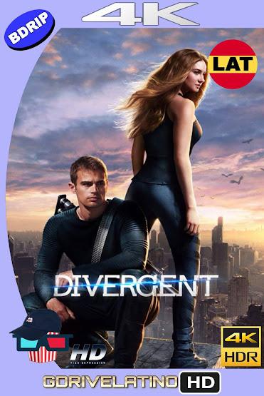 Divergente (2014) BDRip 4K HDR Latino-Ingles MKV