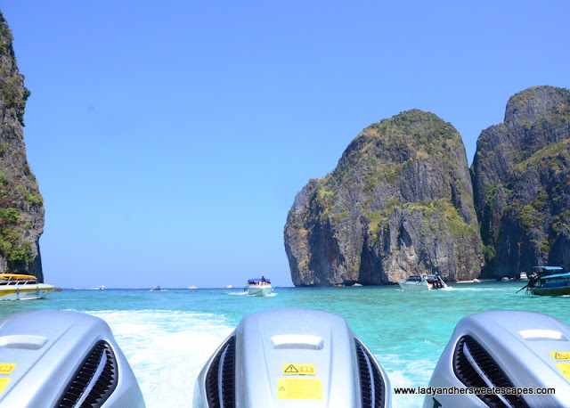 Maya Bay tour via speedboat