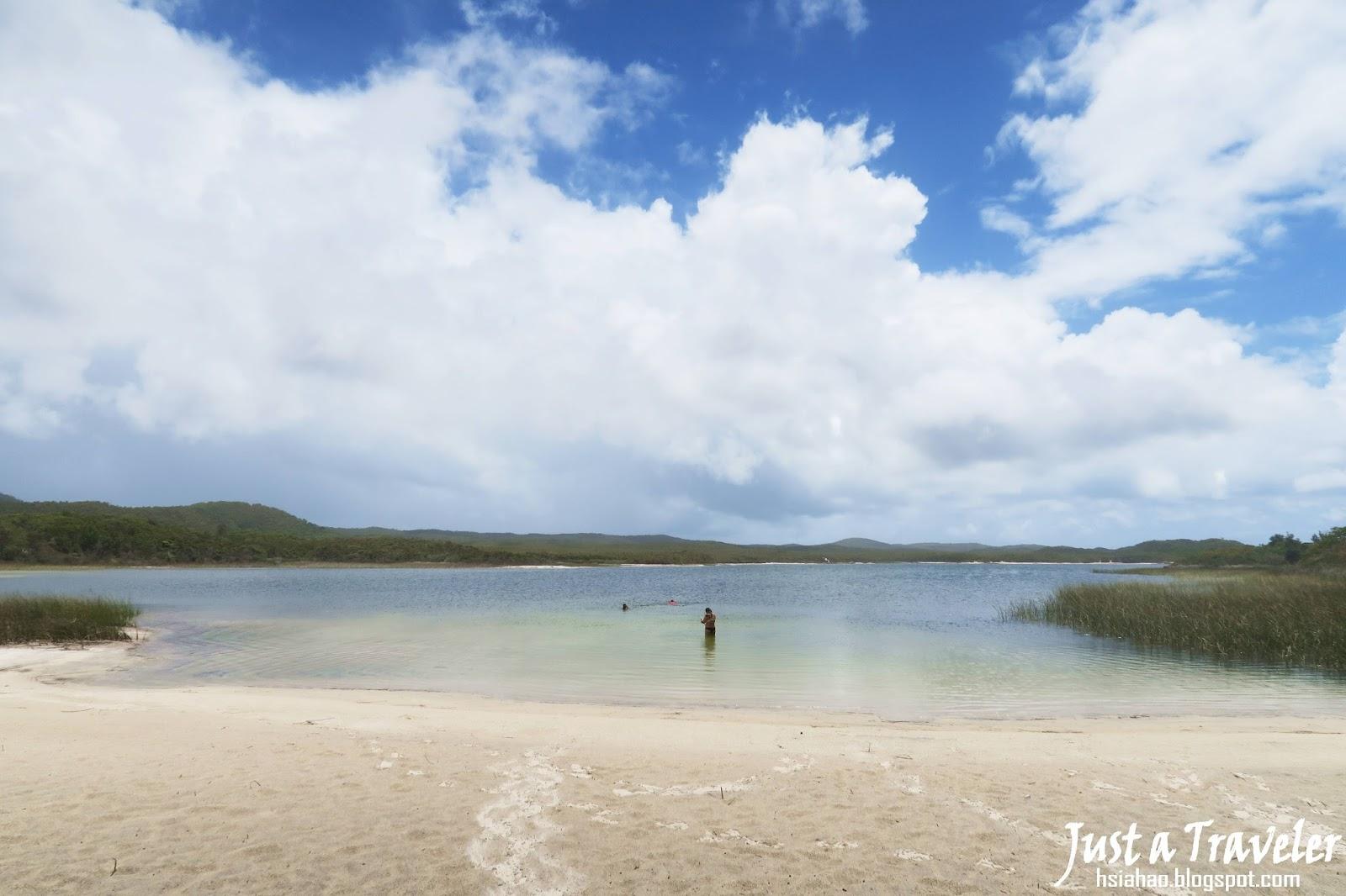 布里斯本-摩頓島-藍湖-Blue Lagoon-景點-交通-住宿-推薦-旅遊-自由行-澳洲-Brisbane-Moreton-Island-Tourist-Attraction-Travel-Australia