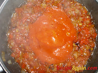 Fried tomato added