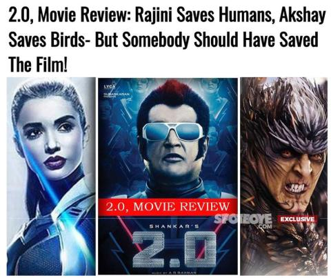2.0,2.0 Box-Office Collection | Robot 2.0 Movie Box-Office Collection | 2.0 fourth day collection