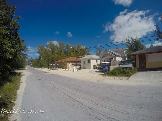 South Bimini road, Bahamas