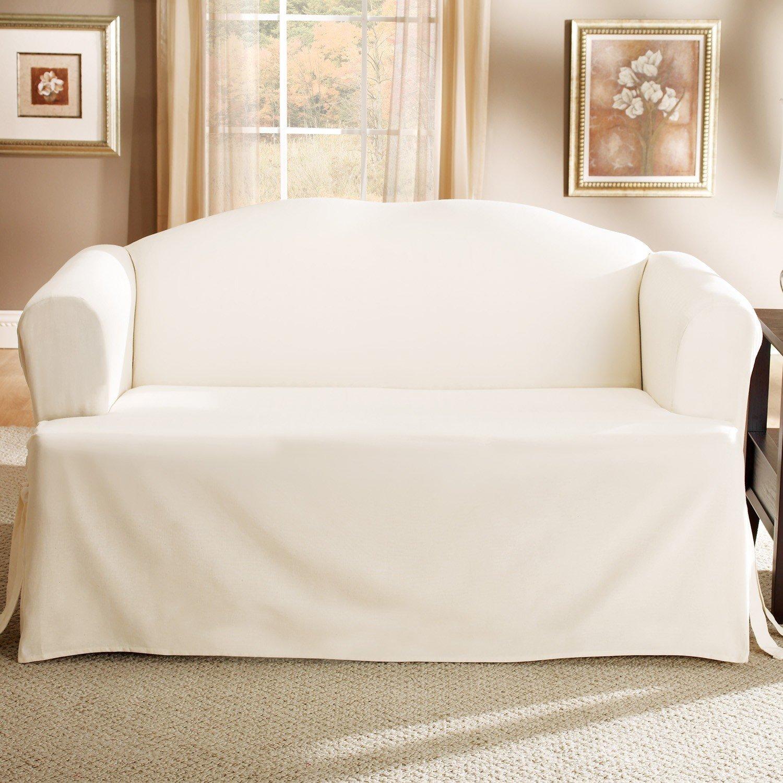 Ivory Sofa Cover Waterproof Slipcovers Buy Cheap Sofas