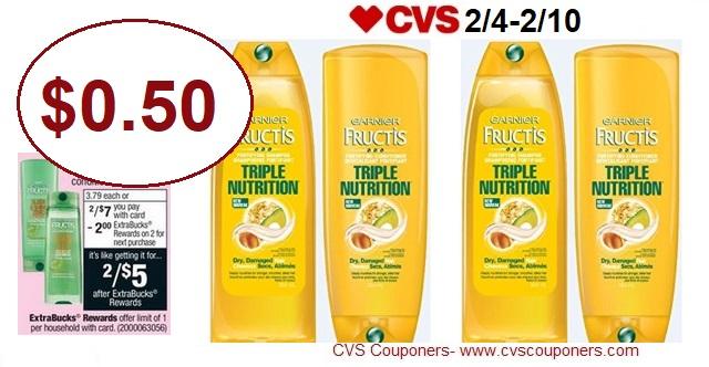 http://www.cvscouponers.com/2018/02/hot-pay-050-for-garnier-fructis-hair.html