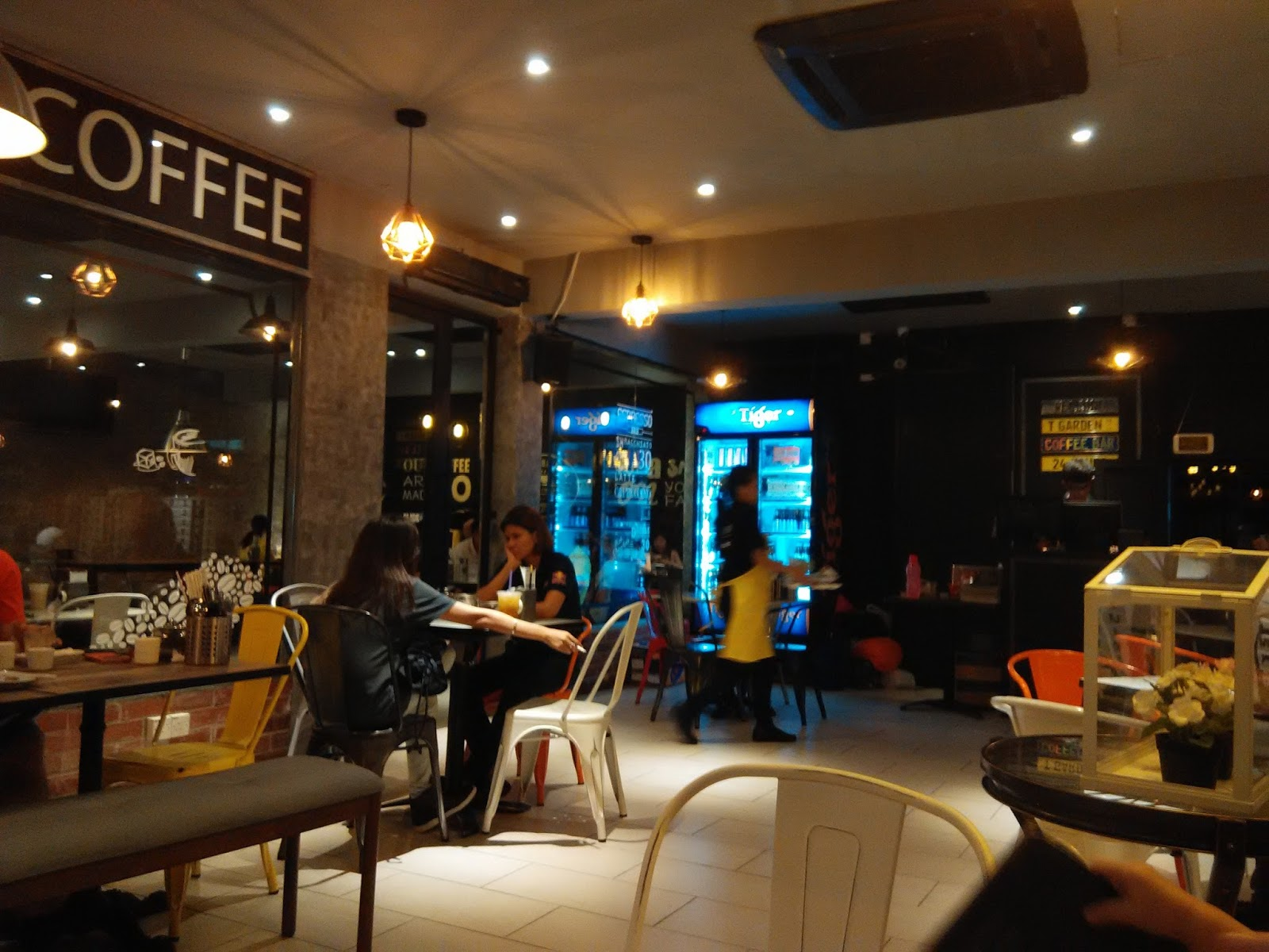 Coffee Shop With Garden Near Me Jes One Stop Coffee Speciality But Local Food At T Garden Pandan
