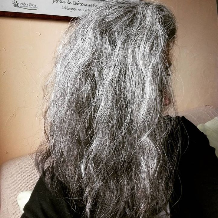 Shampoing solide cheveux gris