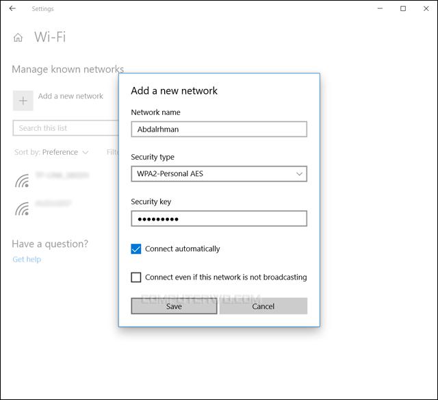 3 طرق للاتصال بشبكة واي فاي مخفية على ويندوز 10 Annotation%2B2019-05-31%2B085822