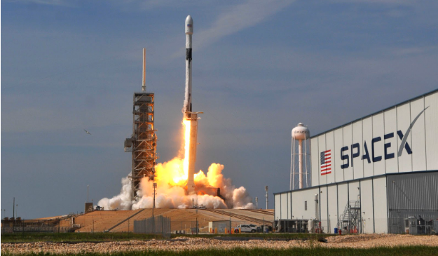 SpaceX is striving to win the race to build the Internet in space