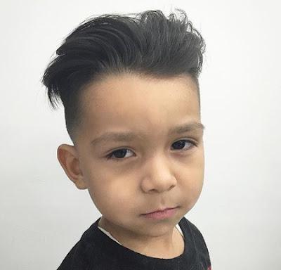 Model Rambut Anak Laki Laki