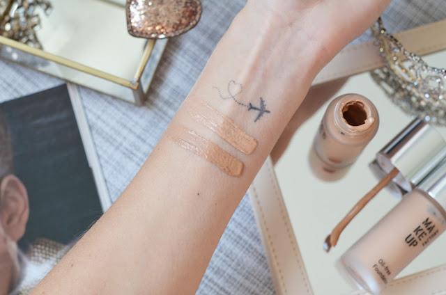 Тональный крем Make up factory oil-free foundation 11 medium beige, 45 dark beige