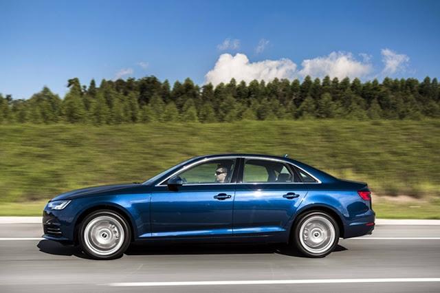 Novo Audi A4 2017 - lateral