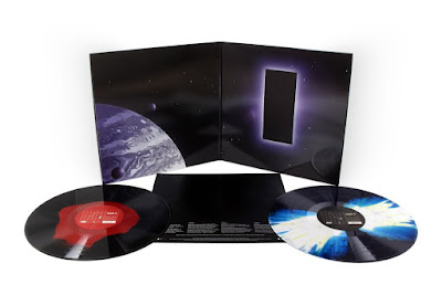 MondoCon 2019 Exclusive 2001 A Space Odyssey Soundtrack Vinyl Records by Mondo with cover artwork by Matthew Woodson