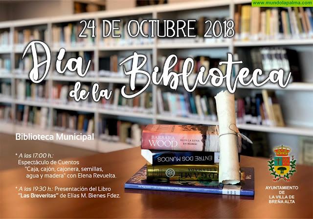 Breña Alta celebrará este miércoles el Día de la Biblioteca en su flamante espacio, inaugurado este mismo año, en pleno centro del municipio
