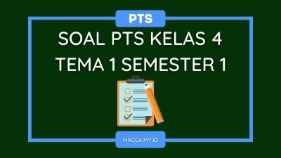 Soal PTS Kelas 4 Tema 1 Semester 1 dan Kunci Jawaban