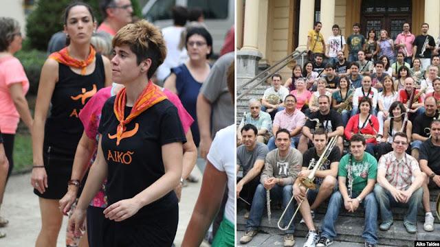 Aiko Taldea y la Banda Municipal de Música de Barakaldo