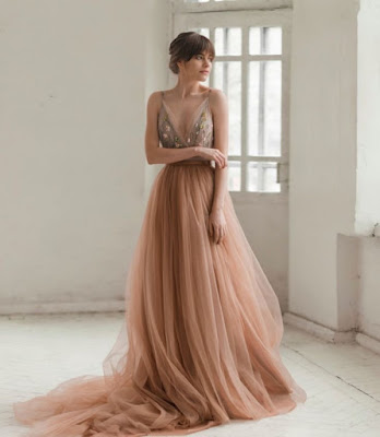 Wedding dress with color-weddingstyle-wedding inspiration-KMich Weddings-Philadelphia PA