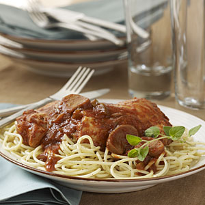 Just Simply Cook: Slow Cooker Chicken Cacciatore