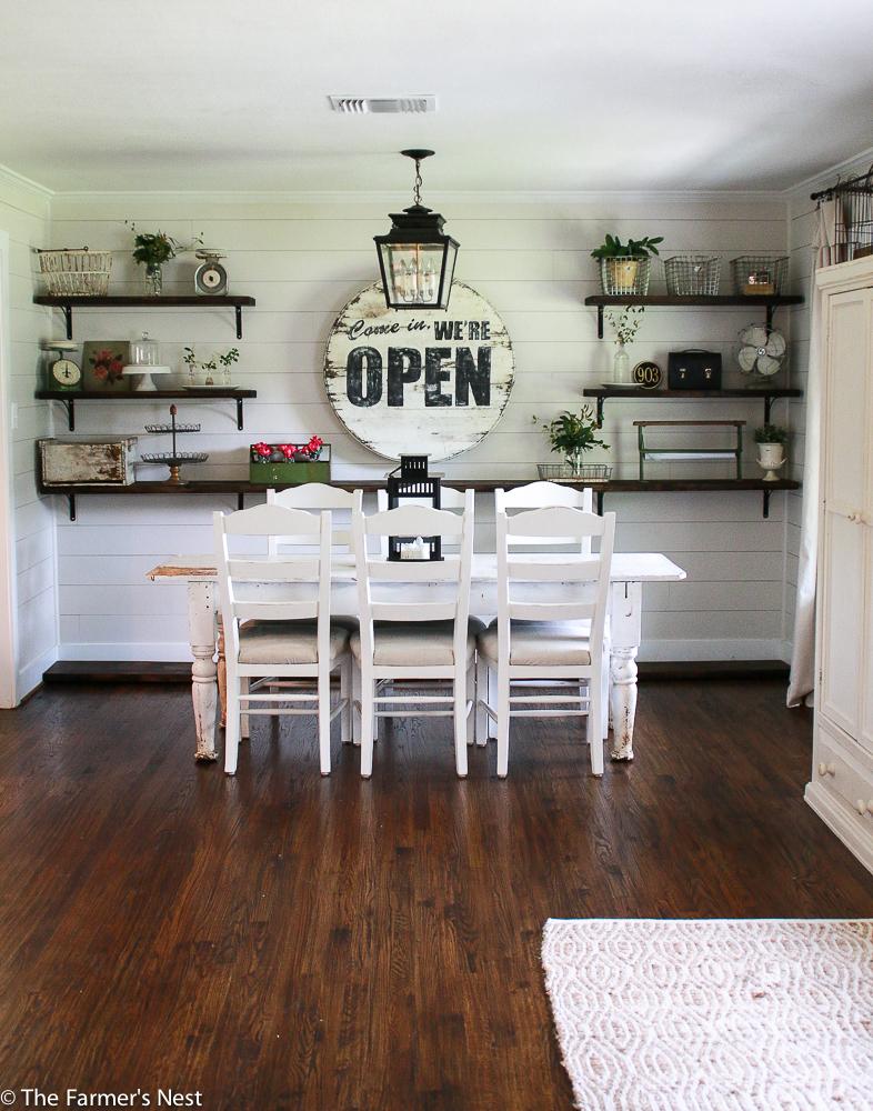 Farmers dining room