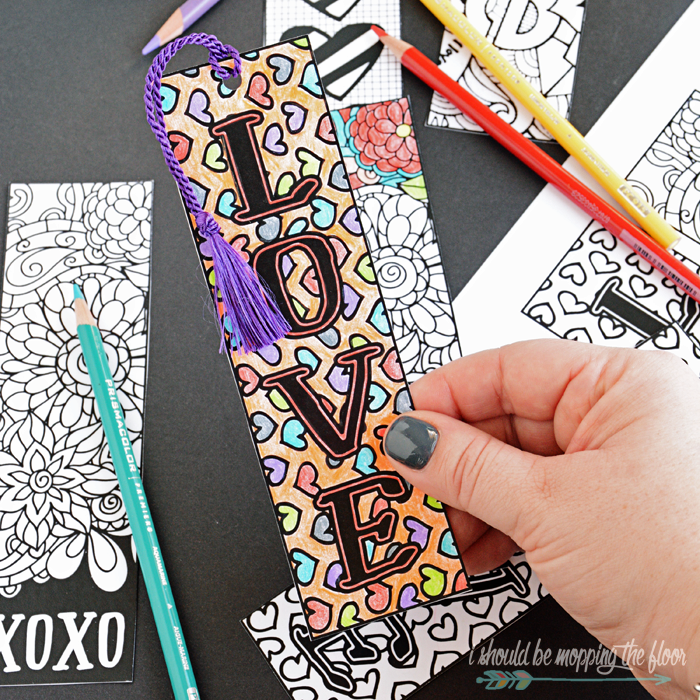 Valentine's Printables to Color