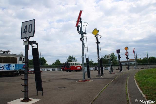 Mulhouse Museo Ferroviario - Collezione cartelli ferroviari