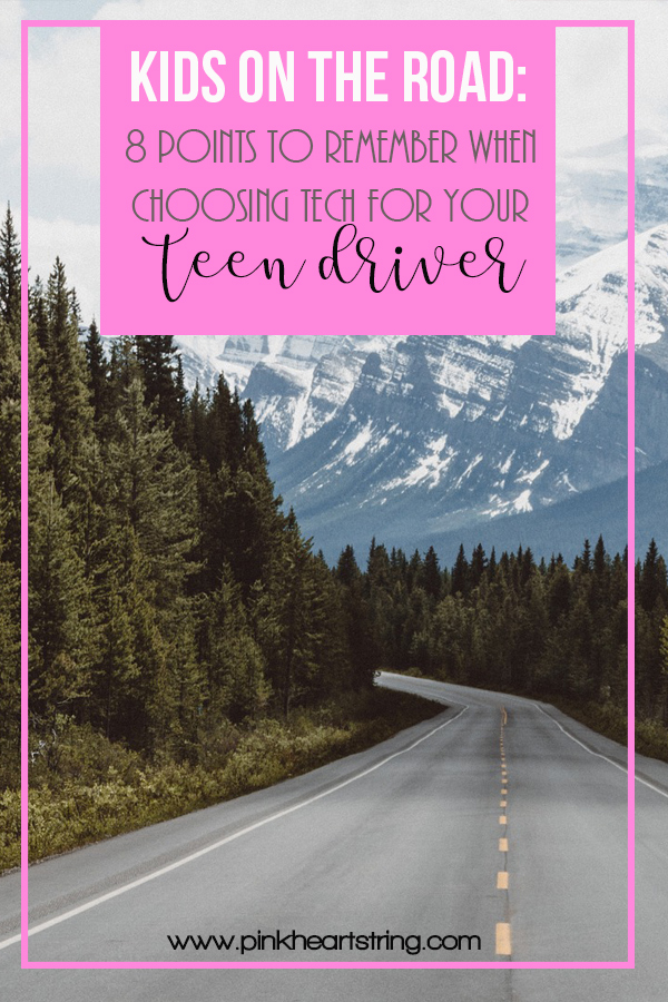 Choosing Tech for Your Teen Driver