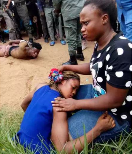 Young Lady Rescued From 'Yahoo Plus' In Delta (Photos)