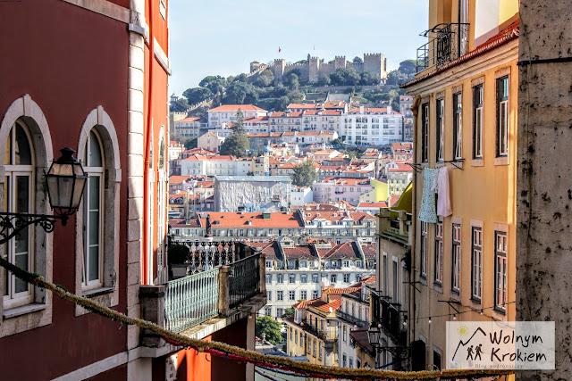 Lizbona zamek Seo Jorge